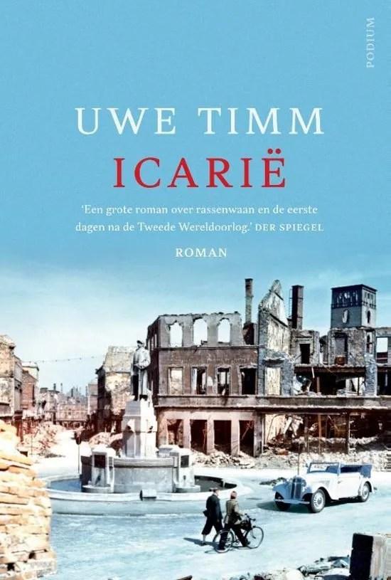 Omslag Icarië - Uwe Timm