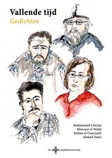 Omslag Vallende tijd - Mohammed Chacha ; Ahmed Ziani ; Fadma el Ouariachi ; Mimoun el Walid