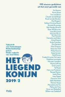 Omslag Het Liegend Konijn 2019/2 - Jozef Deleu