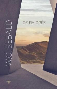 Omslag De emigrés - W.G. Sebald