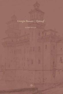 Omslag Epitaaf - Giorgio Bassani