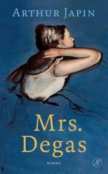 Omslag Mrs. Degas - Arthur Japin