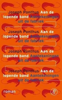 Omslag Aan de lopende band - Joseph Ponthus