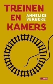 Omslag Treinen en Kamers - Annelies Verbeke