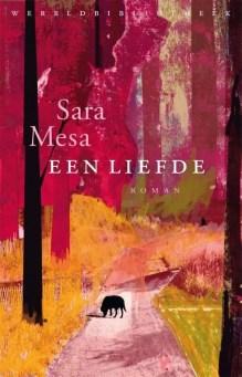 Omslag Een liefde - Sara Mesa