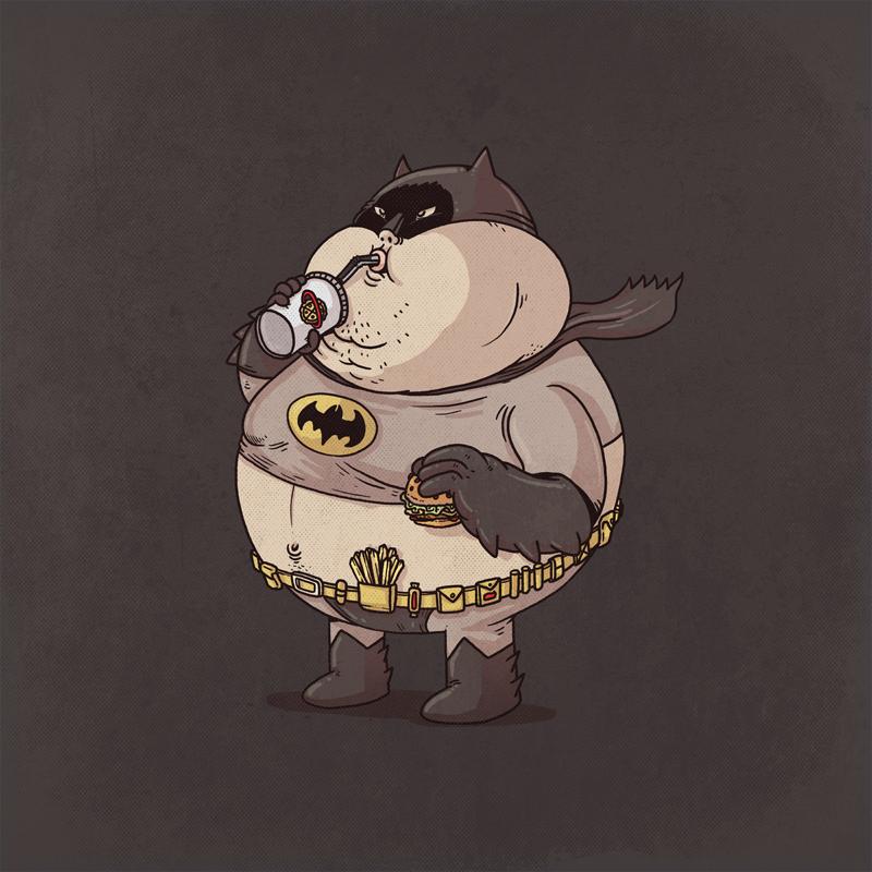 batman gordo