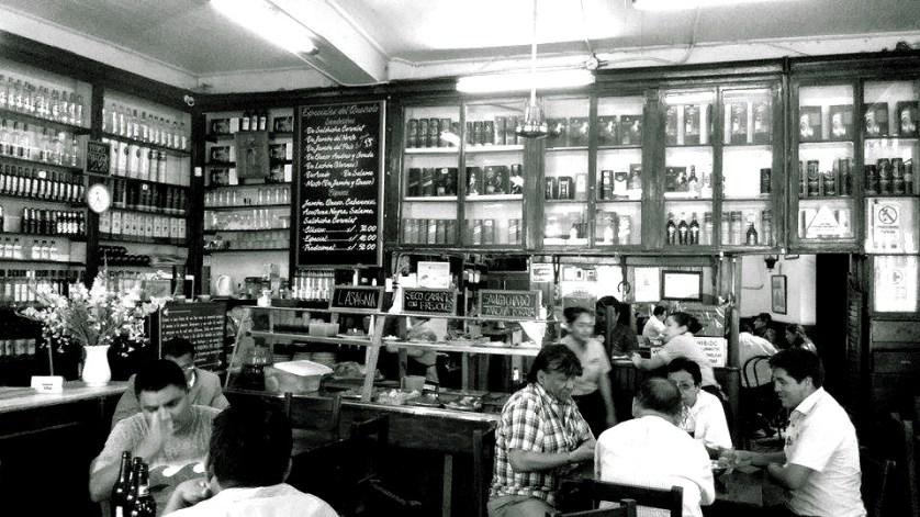 Bar Queirolo. Foto: Literalgia