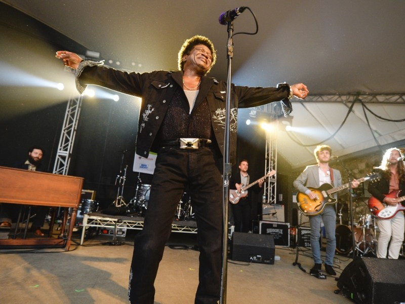 Charles Bradley, photo from NPR Media