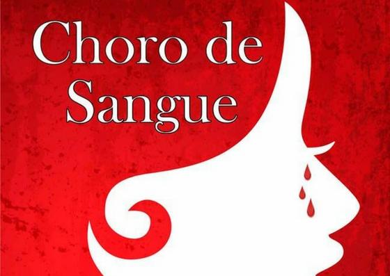 Capa do livro Choro de Sangue