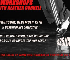 Tap Workshop with Heather Cornell - ADVANCED