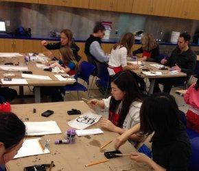 Teen Workshop: Calligraphy