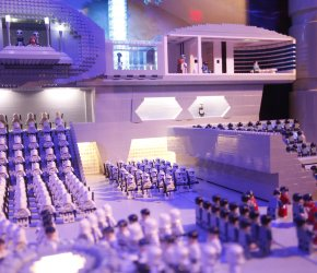 Clone Troopers Invade New LEGO Star Wars MINILAND Model Display