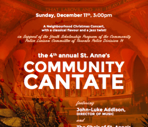 St Anne's Community Cantate