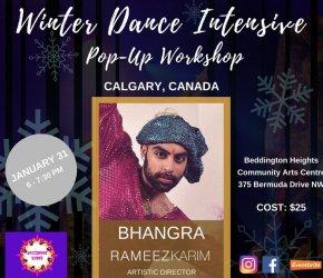 Calgary: Bollywood Blast Pop-Up Bhangra Workshop