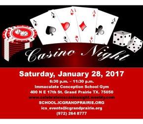 Casino Night - Celebrate ICS 2017