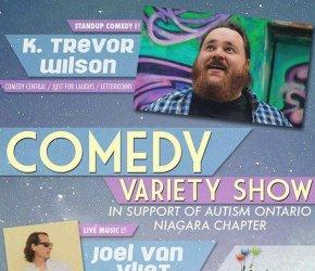 Showtime Comedy Presents Autism Niagara Fundrasier