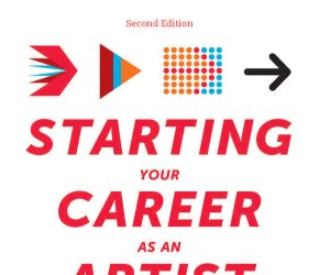 Book Signing and Talk for Starting Your Career as an Artist
