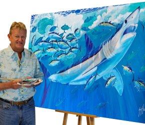 Guy Harvey to Visit SeaWorld Feb. 25th