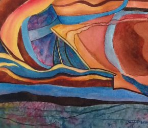 'Gales of Color' an Art Exhibition