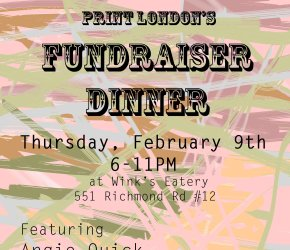 Print London's Fundraiser Dinner for TOMPE2017