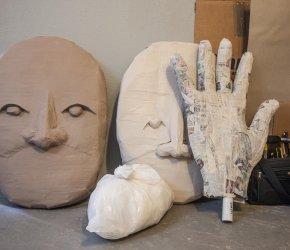 Trouble Puppet's Giant Puppet Workshop