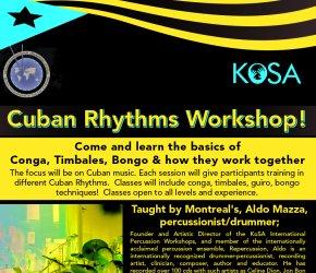 Cuban Rhythms Workshop!