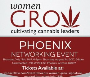 Women Grow Phoenix Signature Networking Event July