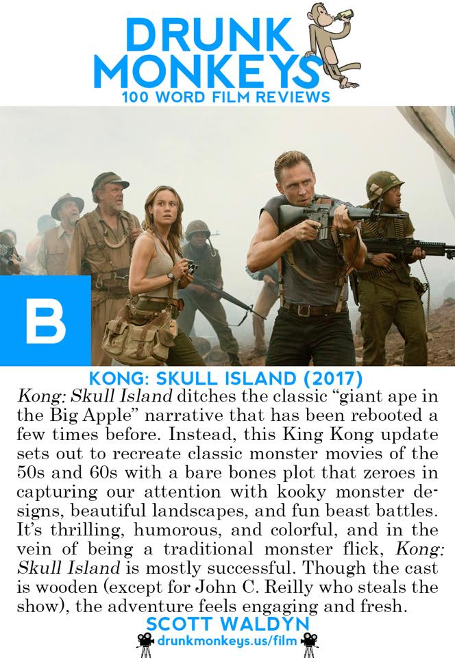 Kong Skull Island Review