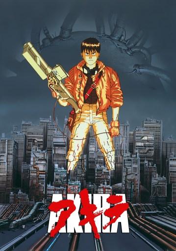Movie Poster for Akira.