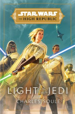 Cover design by Joseph Meehan for Charles Soule's 1st The High Republic novel, Light of the Jedi