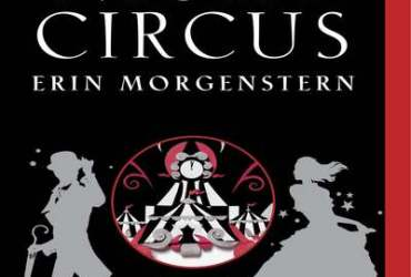 Cover of The Night Circus by Erin Morgenstern.