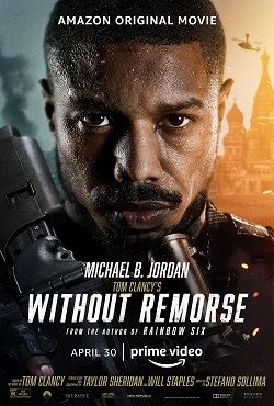 This is a poster for Without Remorse (film). The poster art copyright is believed to belong to the distributor of the film, the publisher of the film or the graphic artist.