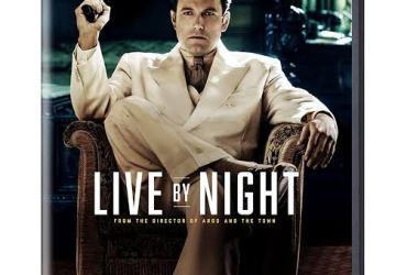 Poster of the 2016 Ben Affleck Movie Live by Night.