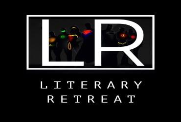 Literary Retreat's Logo Designed by Hassan Faheem.
