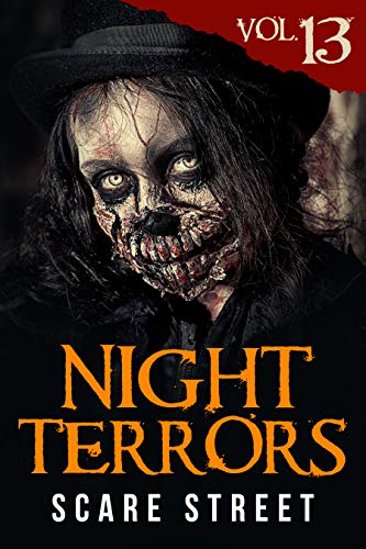 Kindle Cover of the horror anthology series Night Terrors edited and published by Scare Street.