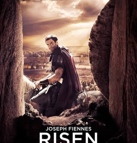 Poster of the 2016 Christian movie Risen.