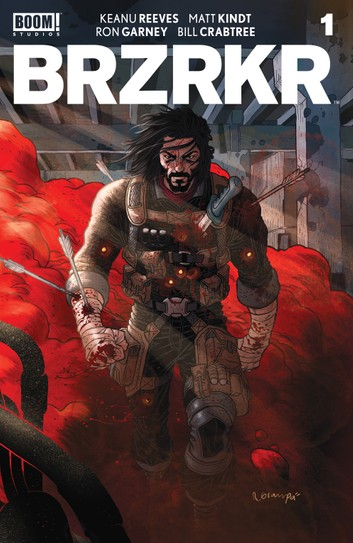 Kobo Cover of BRZRKR Issue #1.