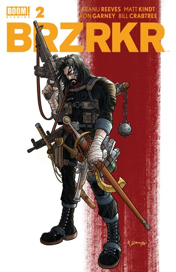 Kobo Cover of BRZRKR Issue #2.