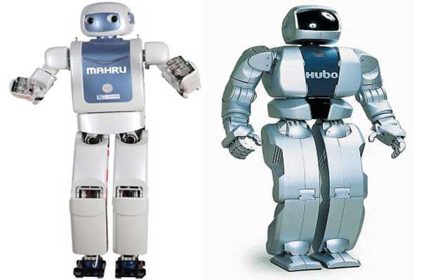 Robot Mahru dan Hubo