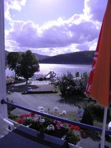 Ausblick vom Haus am See