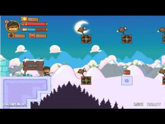 Screenshot aus dem Spiel Super Adventure Pals