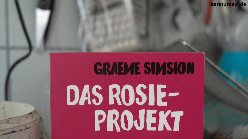 Hier sieht man den Titel des Buchs das Rosie Projekt