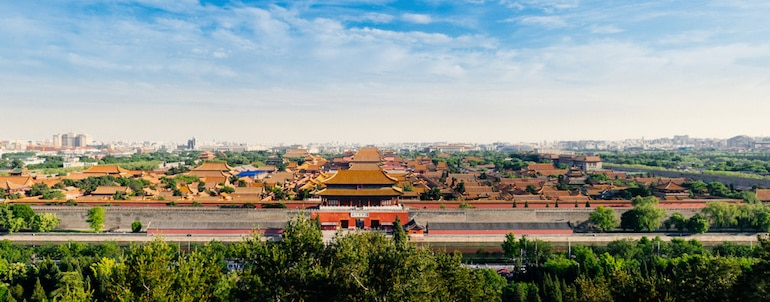 La Cité Interdite de Pékin, en Chine