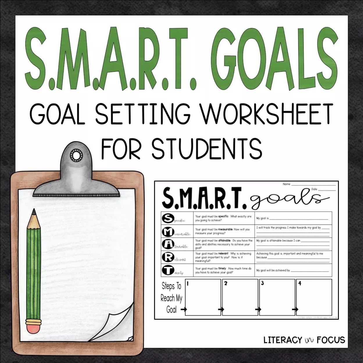 Teaching Students How To Set S M A R T Goals