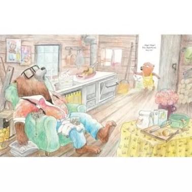 pépé ours fait la sieste