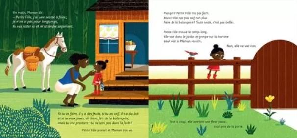 la petite fille et le loup littérature enfantine