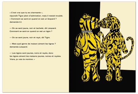 Tigre et léopard, Jill Gill, MeMo