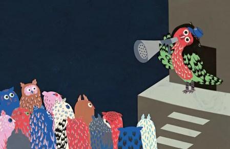 Madame hibou cherche un appartement, Caroline Dorka-Fenech, Géraldine Alibeu, à pas de loup