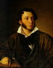 Alexandre Pouchkine (par Vassili Tropinine, 1827)