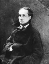 Charles Baudelaire (par Félix Nadar, 1855)